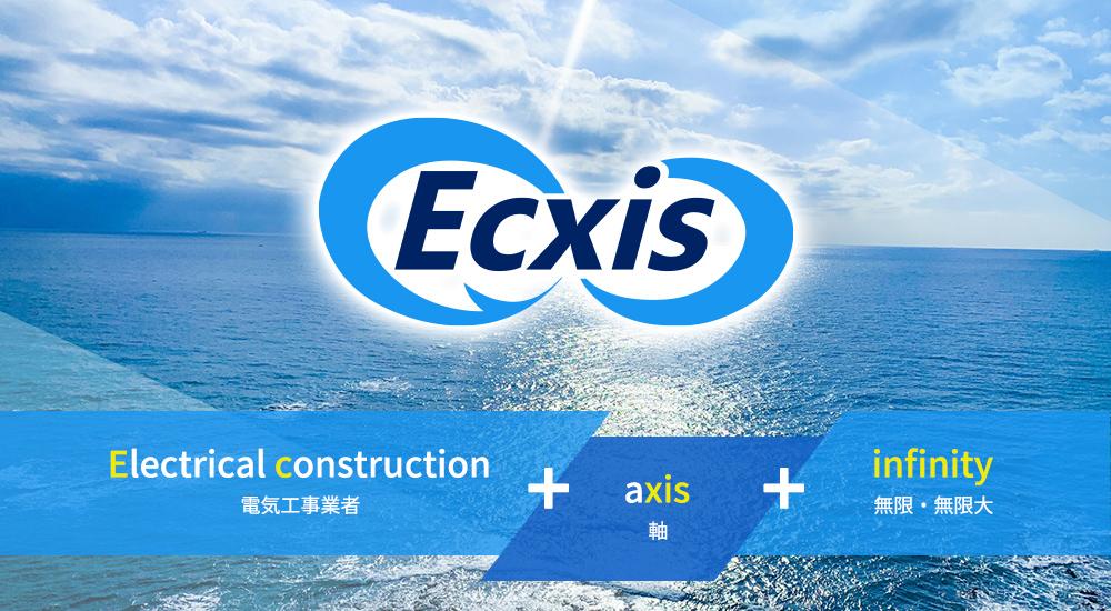 社名 Ecxis infinity とロゴに込めた想い画像