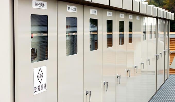 特高・高低圧受電設備工事画像