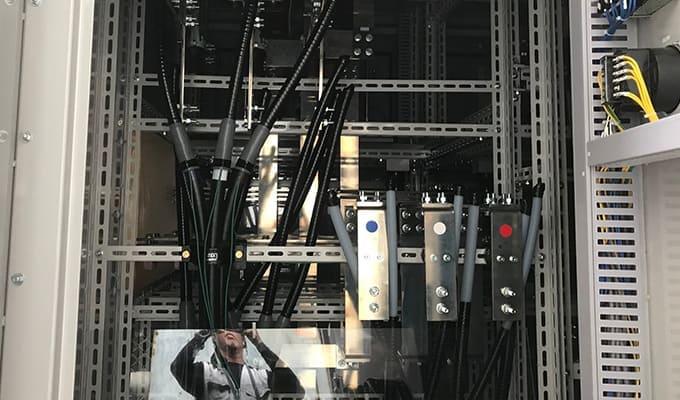 プラント制御工事画像