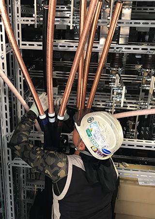 特高圧受電設備工事画像1