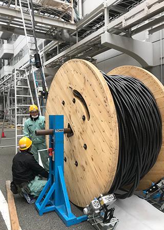 特高圧受電設備工事画像3